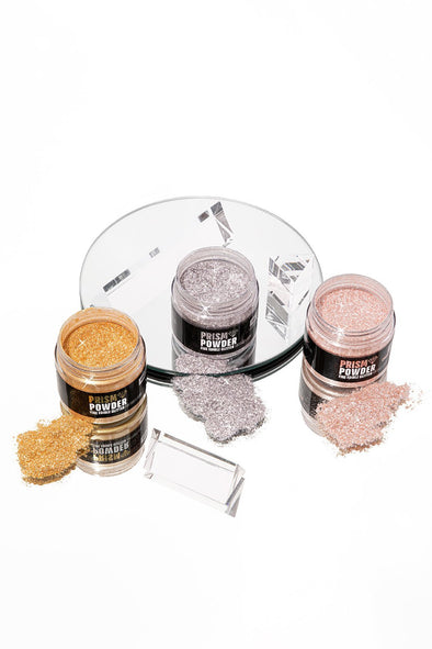 JUMBO METALLIC PRISM POWDER SET - FANCY SPRINKLES