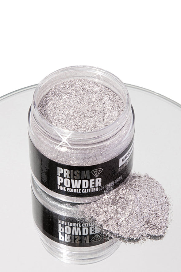 JUMBO RHINESTONE SILVER PRISM POWDER® - FANCY SPRINKLES