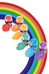 RAINBOW PRISM POWDER SET
