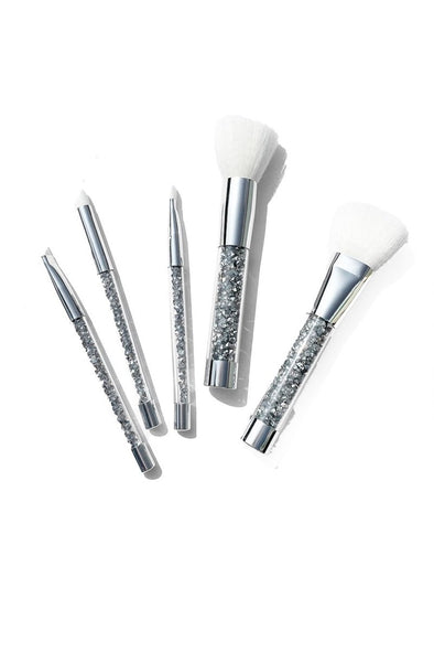 SILVER FOX CRYSTAL BRUSH SET