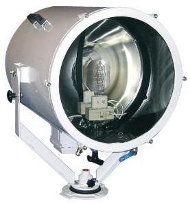 Norselight 100111520 Searchlight, 322° horizontal movement, 70° vertical, halogen lamp 2000W, 230Vca, 60Hz, aluminum body, with built-in ballast, stainless steel reflector, tempered glass diffuser, protection grid, IP56 protection, NBR IEC 60529, SH 470 D, datasheet