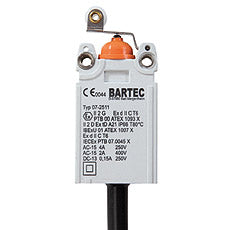 07-2511-1330/63 Limit Switch, Bartec, جهاز محدد, had suis, interruptor, конечный выключатель