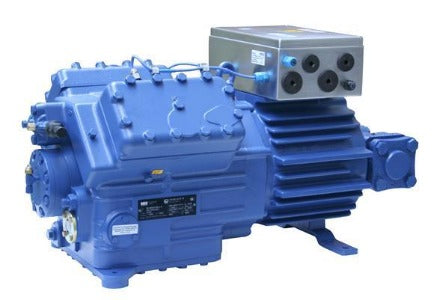 Bock EX-HGX-5/945-4 Semi-Hermetic Compressor, Atex Zone 1, 380/420V, 3ph, 50hz, 82.20 mі, 510168, ضاغط, pemampat, συμπιεστής