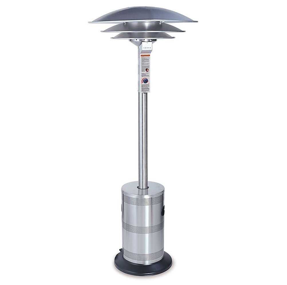 Endless Summer Commercial LP Gas Patio Heater Triple Dome - Endless Summer Commercial LP Gas Patio Heater Triple Dome - Fire Savage