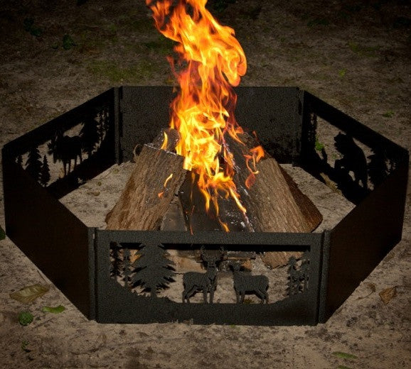 Charmant Wildlife Fire Ring · Wildlife Fire Ring ...