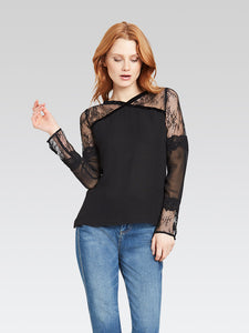 Ecru The Terpsichore Lace Shirt