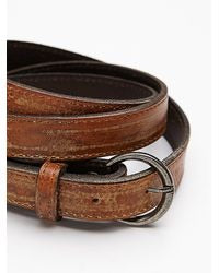 Bed Stu Monae Belt in Tan Rustic