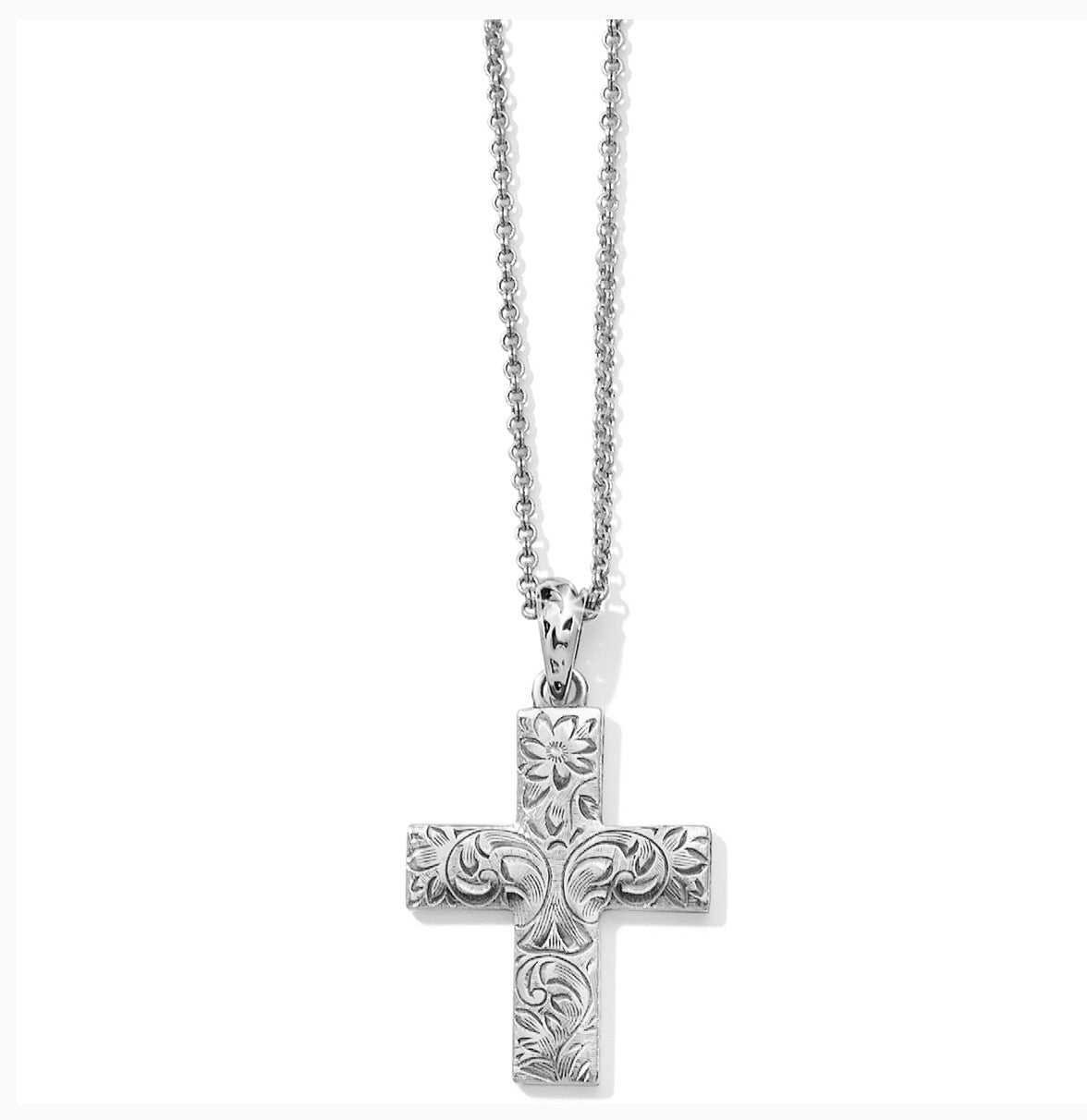 Brighton Timeless Cross Convertible Necklace JM1670