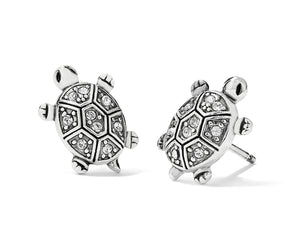 Brighton Fortune Turtles Min8 Post Earrings J22311
