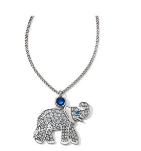 Brighton Africa Stories Elephant Necklace