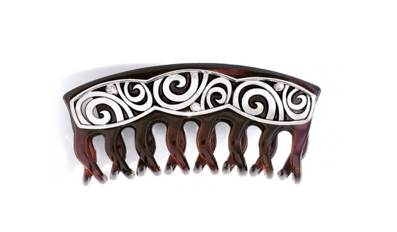 Brighton Tort London Groove Large Hair Clip J81832