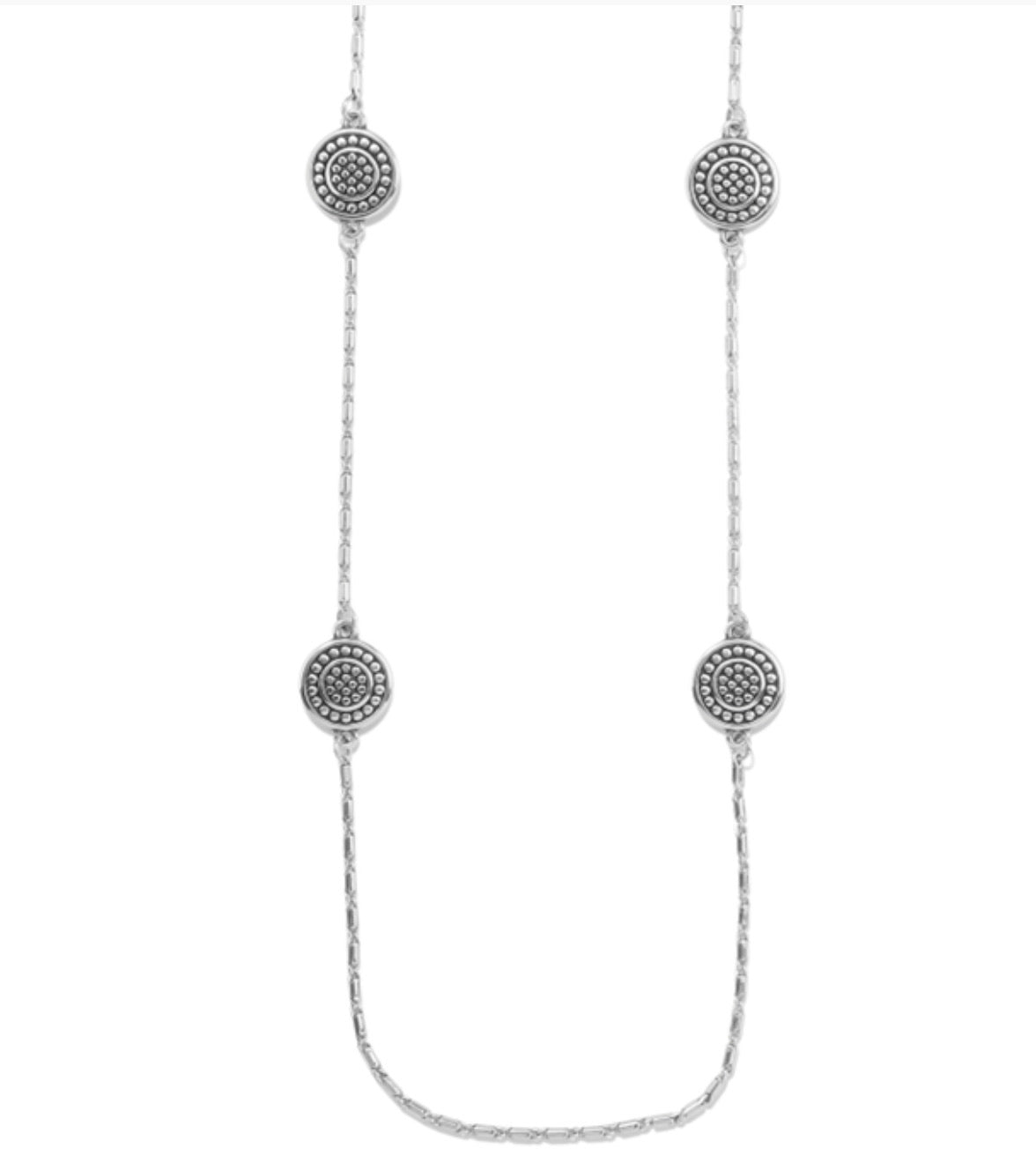 Brighton Pebble Round Reversible Necklace JM3999