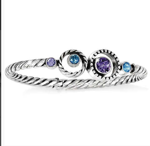 Brighton halo hinged bracelet