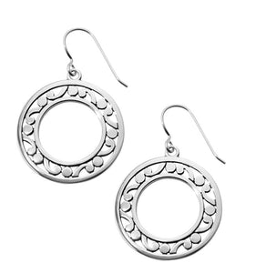 Brighton Contempo Open Ring French Wire Earrings JA5380