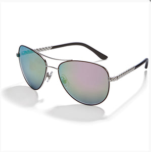 Brighton Helix Aviator Sunglasses A13053