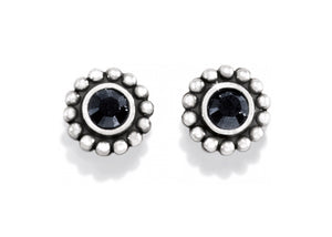 Brighton Twinkle Mini Post Earrings J20493 black