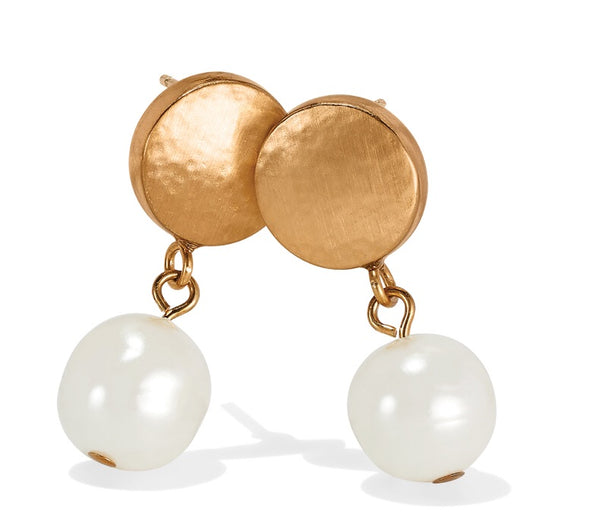 Brighton Mediterranean Pearl Post Earrings JA403A