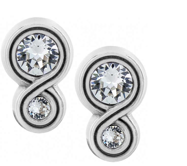 Brighton Infinity Sparkle Post Earrings JA1222