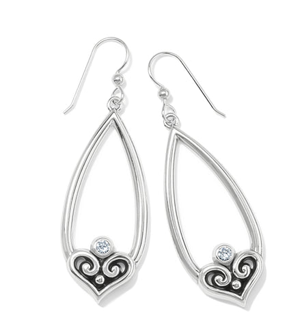 Brighton Alcazar Heart Teardrop Earrings JA7351
