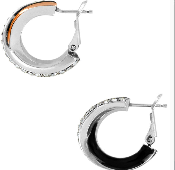 Brighton Neptune's Rings Post Clip Earrings JA5433
