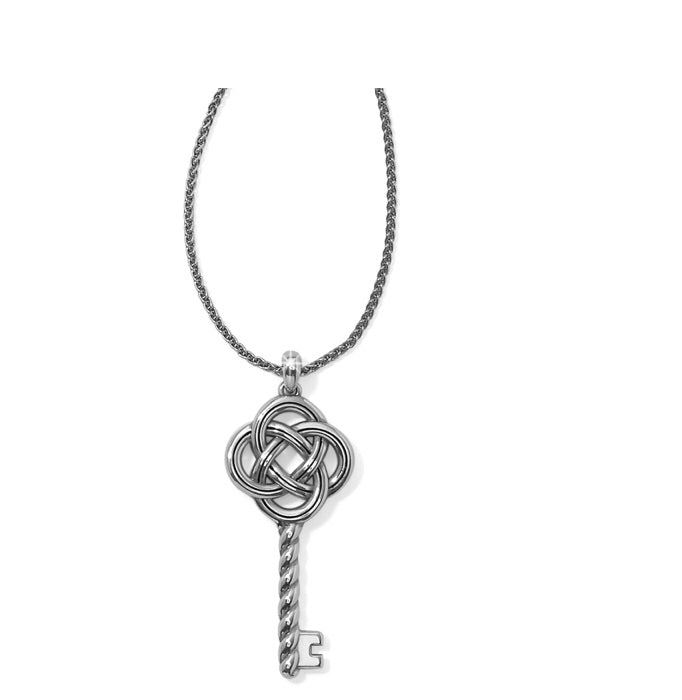 Brighton Interlok Large Key Convertible Necklace JM0450