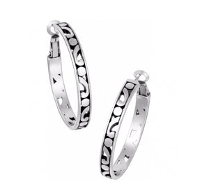Brighton Contempo Medium Hoop Earrings JE9720
