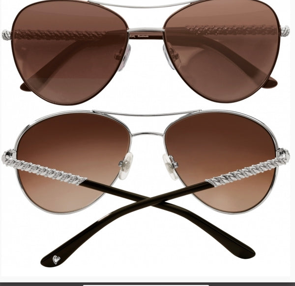 Brighton Helix Aviator Sunglasses A12707