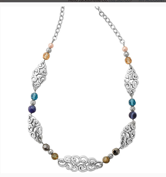 Brighton Barbados nuvola Short Necklace jm1373