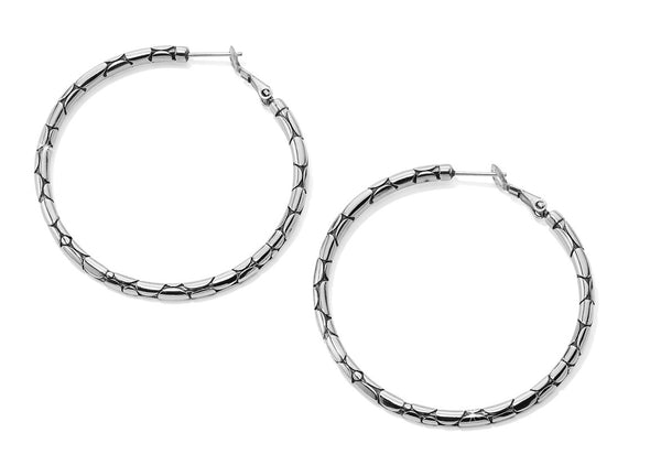 Brighton Pepple Large Hoop Earrings