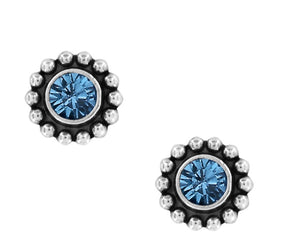 Brighton Twinkle Sapphire Mini Post Earrings J2049E