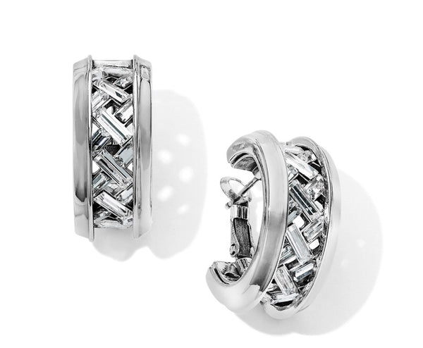 Love Cage Heart Leverback Hoop Earrings JA6441