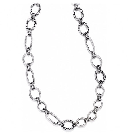 Brighton Pebble Mini Link Long Necklace
