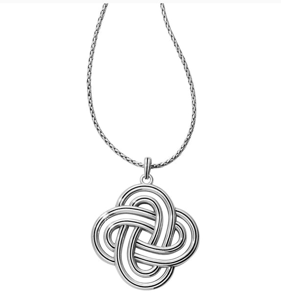 Brighton Interlok Spiral Statement Necklace JM0910