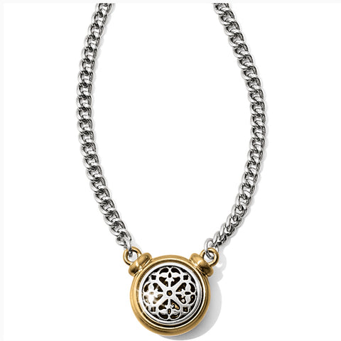 Brighton Ferrara Two Tone Short Necklace JM1072