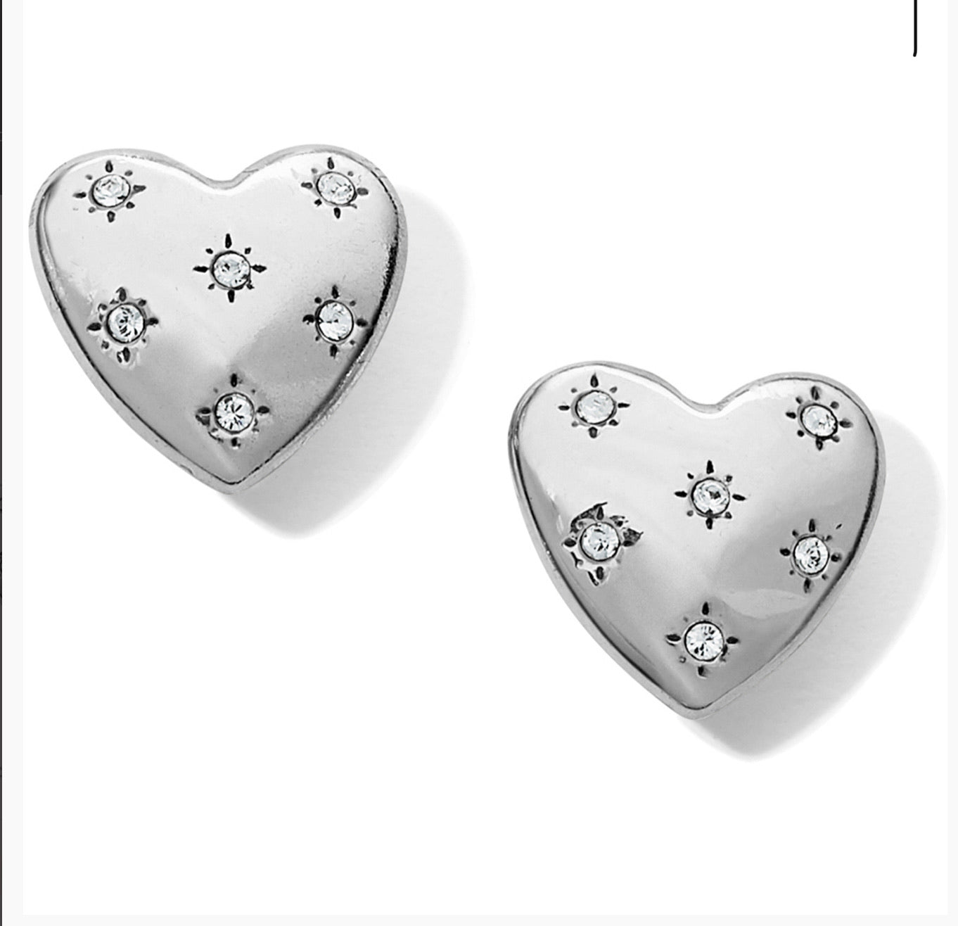 Brighton Stellar Heart Earrings