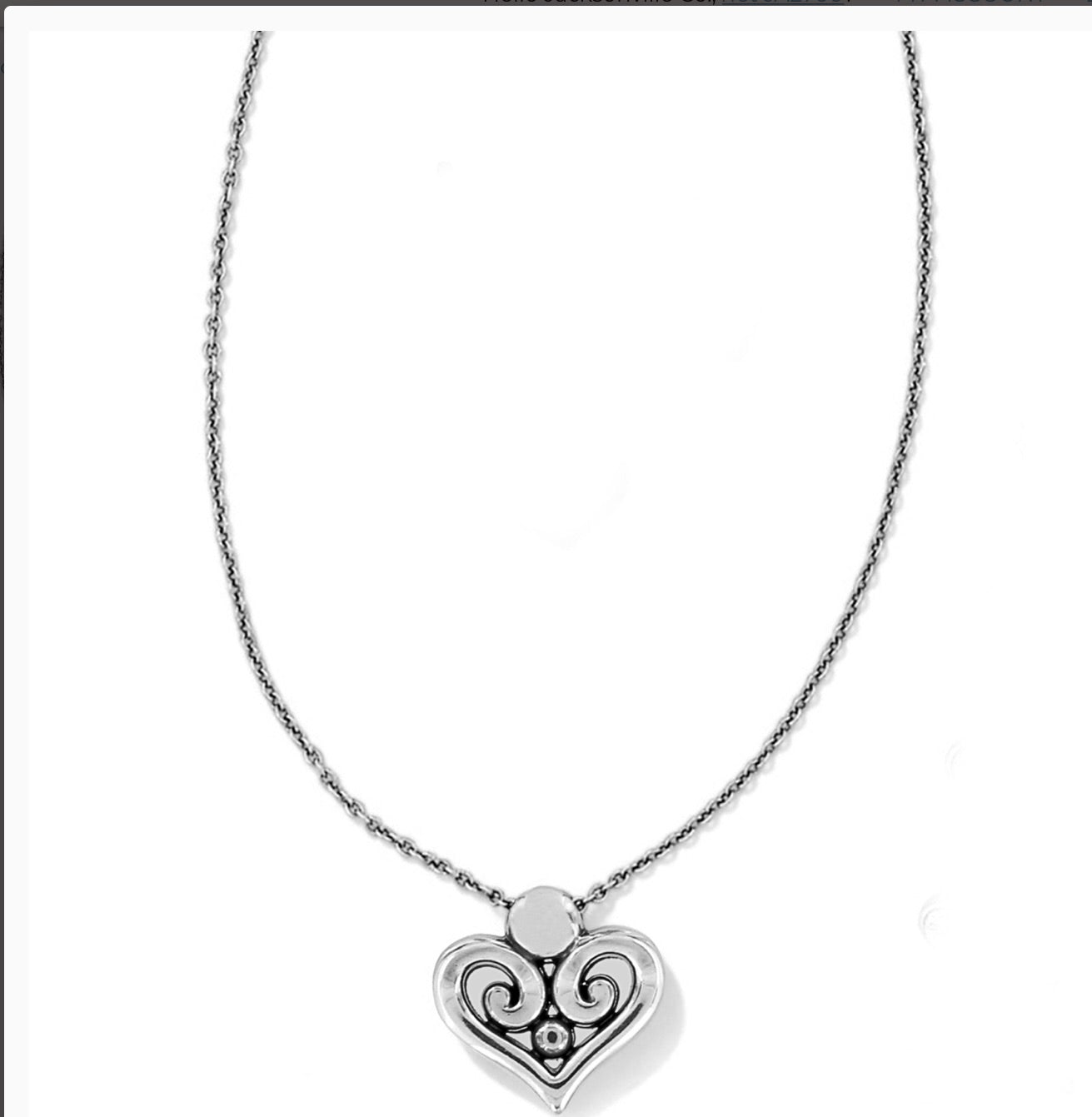 Brighton Alcazar Heart Necklace