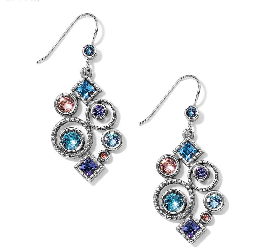 Brighton Halo Aurora French Wire Earrings JA5513