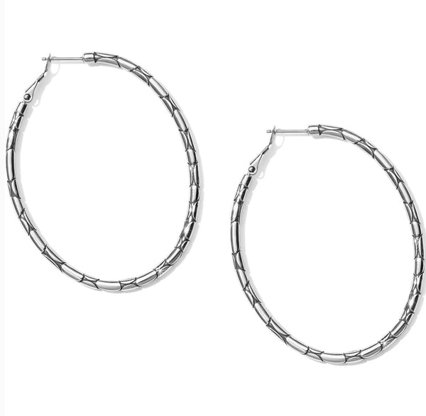 Brighton Pebble Large Oval Hoop JA5400