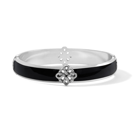 Brighton Interlok Noir Bangle JF8253