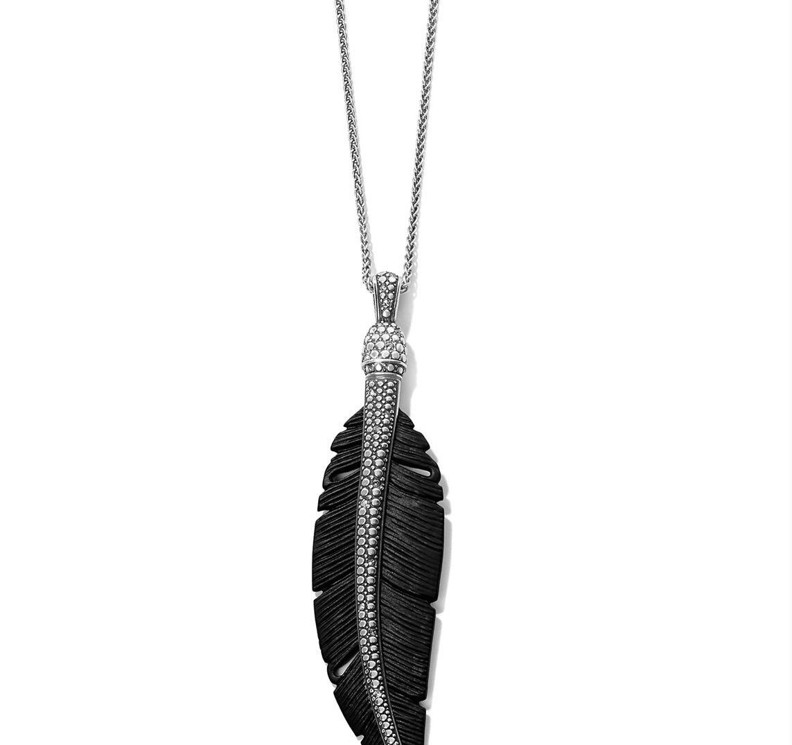 Brighton Free Spirit Feather Necklace JM280A or JM280B