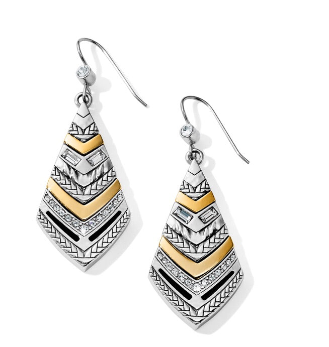 Brighton Tapestry Kite French Wire Earrings JA6473