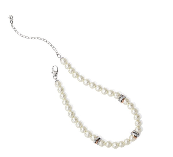 Brighton Neptune's Rings Pearl Short Necklace JM104A