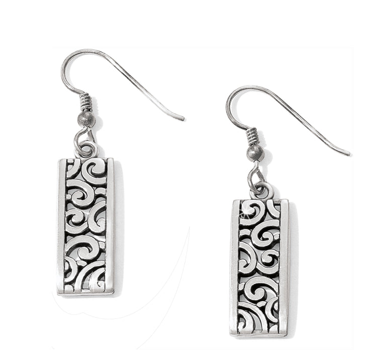 Brighton Deco Lace French Wire Earrings J13120