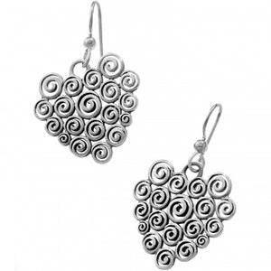 Brighton Vertigo Heart Wire Earring