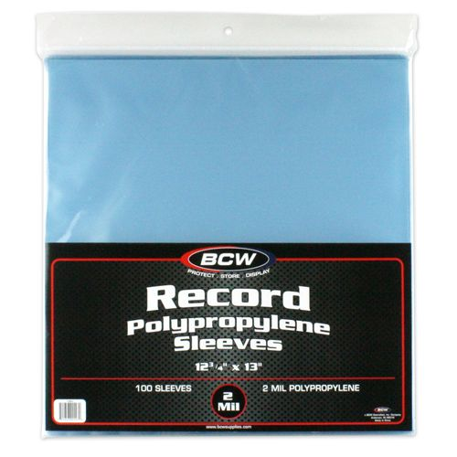 100 pack of LP sleeves