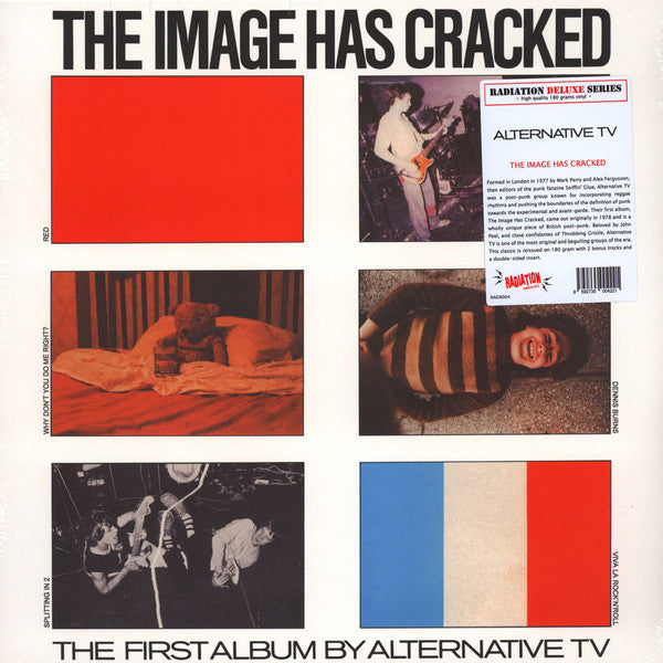 "Alternative TV ""The Image Has Cracked"" LP"