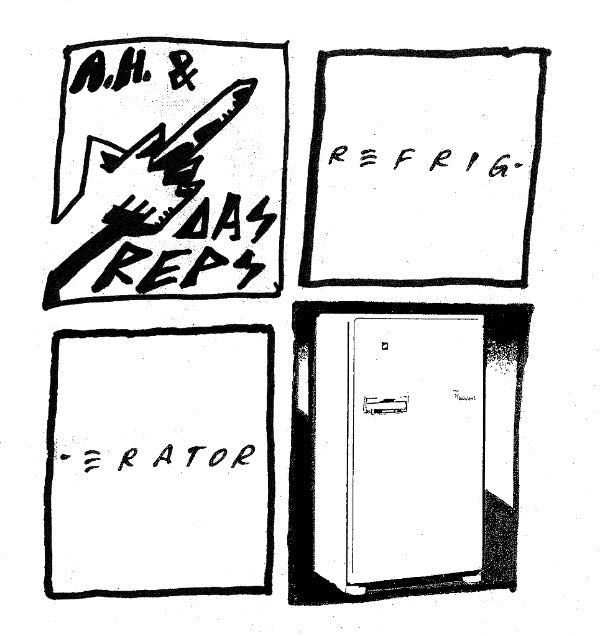 "Andy Human And The Reptoids ""Refrigerator 7"""