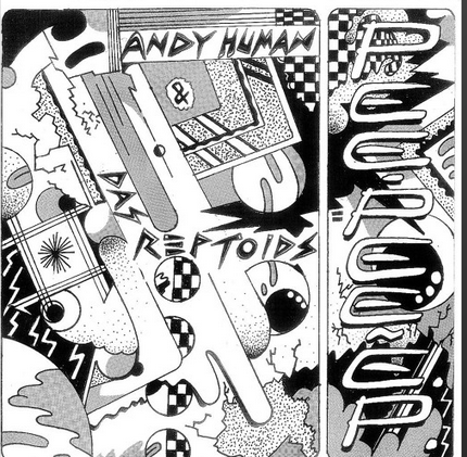 "Andy Human And The Reptoids ""Pee Pee"" 7"""