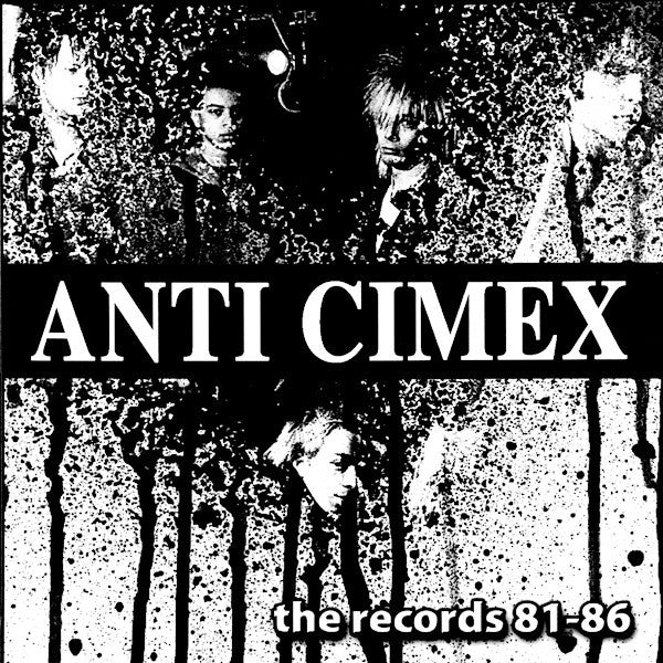 "Anti Cimex ""The Records 81-86"" LP"