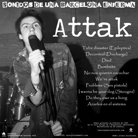 "Attak / Shit ""Split"" LP"